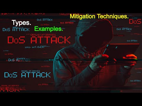 Cyber Security - DOS ATTACKS -Denial of Service ATTACKS - WHAT WHY HOW