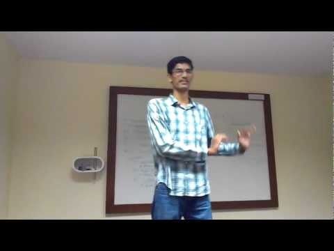 The Story of My life - My first prepared Speech at Toastmasters club