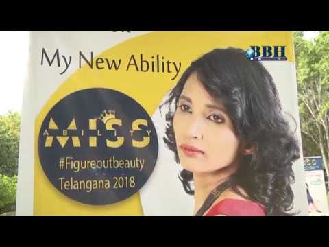 Miss Ability contest Auditions 2018 on Phone ix Arena at Hyderabad