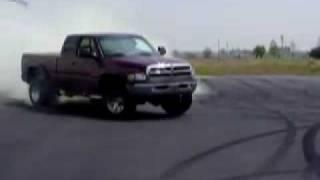 Diesel Burnout Compilation
