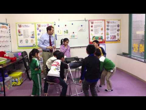 Establishing A Routine In The Classroom (Kids 1 second meeting)