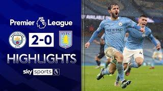 Silva and Gündogan strikes seal late City win! | Man City 2-0 Aston Villa | EPL Highlights