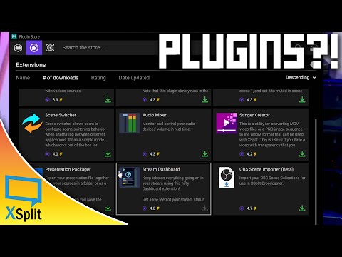 XSplit Broadcaster Plugins & Extensions Tutorial - Add Custom Sources | XSplit Tutorial 2020