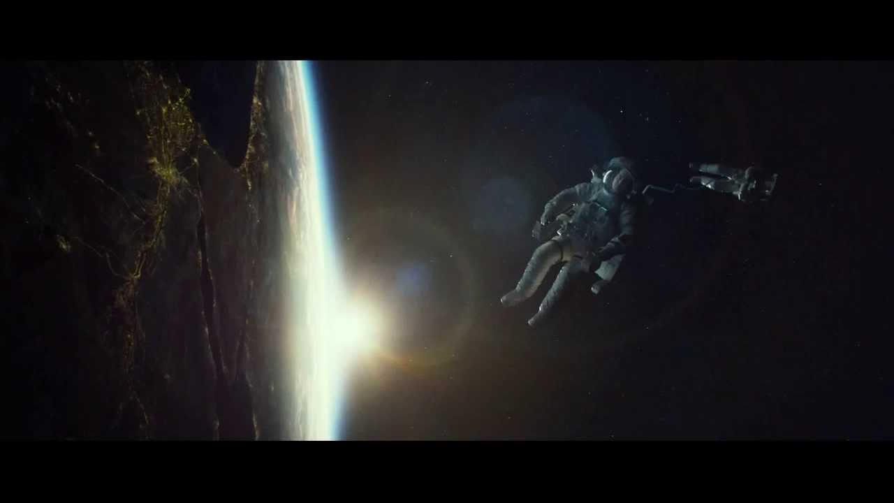 Gravity 2013 Extended Trailer Youtube