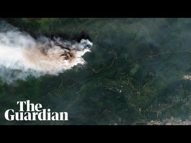 Unprecedented wildfires burn in the Arctic during heatwave