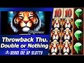 Tigress Slot - TBT Double or Nothing, with Live Play and 2 Free Spins Bonuses