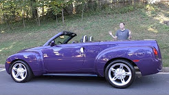 The Chevy SSR Was a Crazy $50,000 Retro Convertible Pickup Truck
