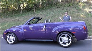 Download The Chevy SSR Was a Crazy $50,000 Retro Convertible Pickup Truck Mp3 and Videos