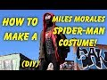 Make Your Own Miles Morales Costume From SpiderMan Into The SpiderVerse! DIY