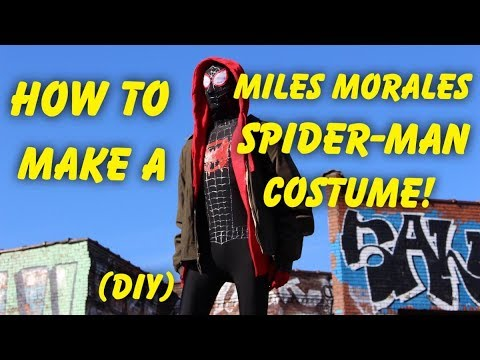 [VIDEO] - Make Your Own Miles Morales Costume From Spider-Man: Into The Spider-Verse! (DIY) 1