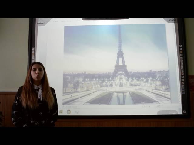 Изображение предпросмотра прочтения – РебеккаШумакова читает произведение «Париж (И я к тебе пришёл, о город многоликий…)» В.Я.Брюсова