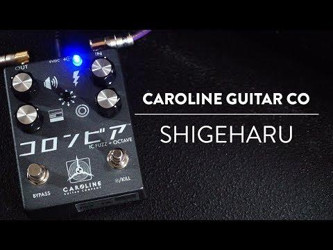 Caroline Guitar Company Shigeharu Fuzz Demo