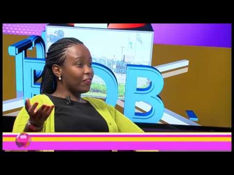 #KUNTEGO  Claire  AKAMANZI  talking about Rwanda Development Board