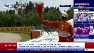 MORTE IN DIRETTA DI LUIS SALOM,MOTO2 CRASH