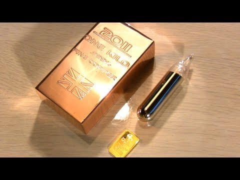 Exotic Elements vs. Magnet | Part 3/5 | Gold and nasty ones