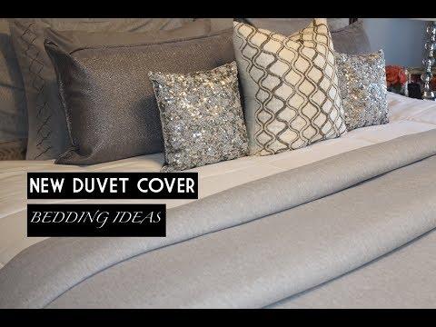 HOME DECOR || DUVET COVERS & BEDDING IDEAS || GLAM PILLOWS