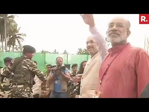 BJP President Amit Shah In Kerala - Full Update