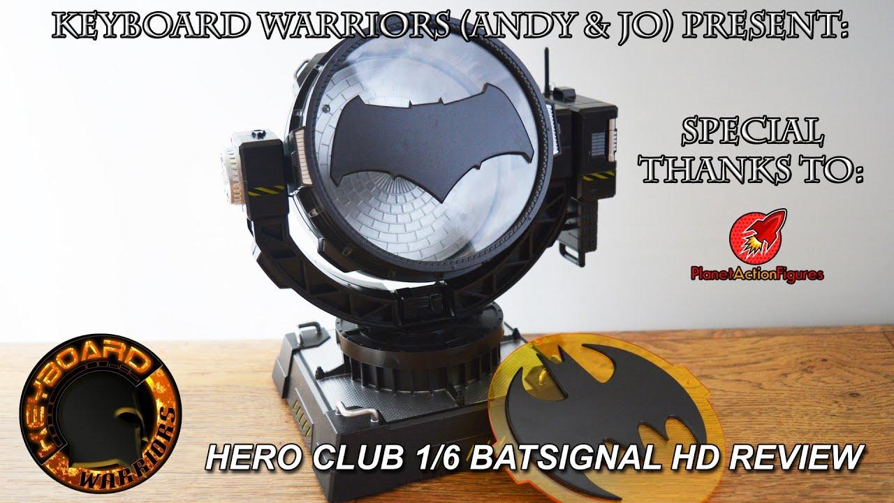 Hero club 16 scale bat signal review bvs and batman 89 youtube hero club 16 scale bat signal review bvs and batman 89 keyboard warriors buycottarizona Image collections