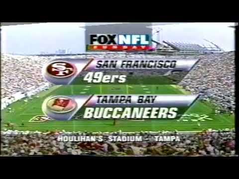 49ers vs. Buccaneers FOX intro (August 31, 1997)