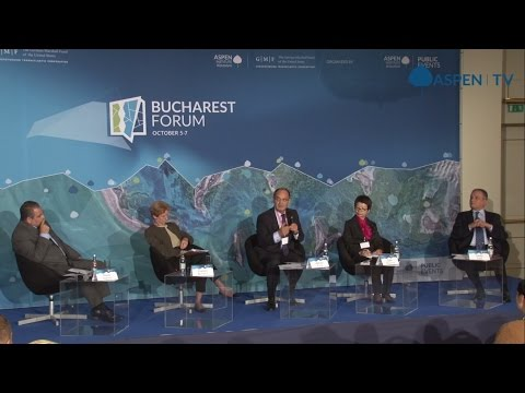 """""""Unlocking Economic Potential via Trade, Technology and Investment"""" at Bucharest Forum 2016"""