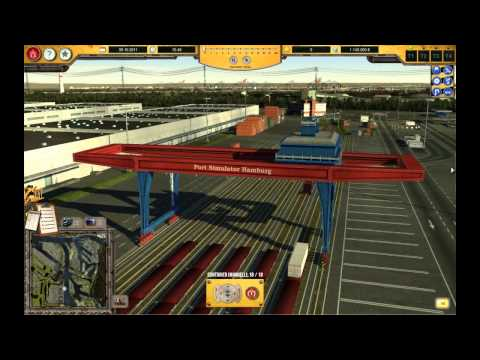 Lets Play Hafen Hamburg Simulator 2012  Container Tutorial