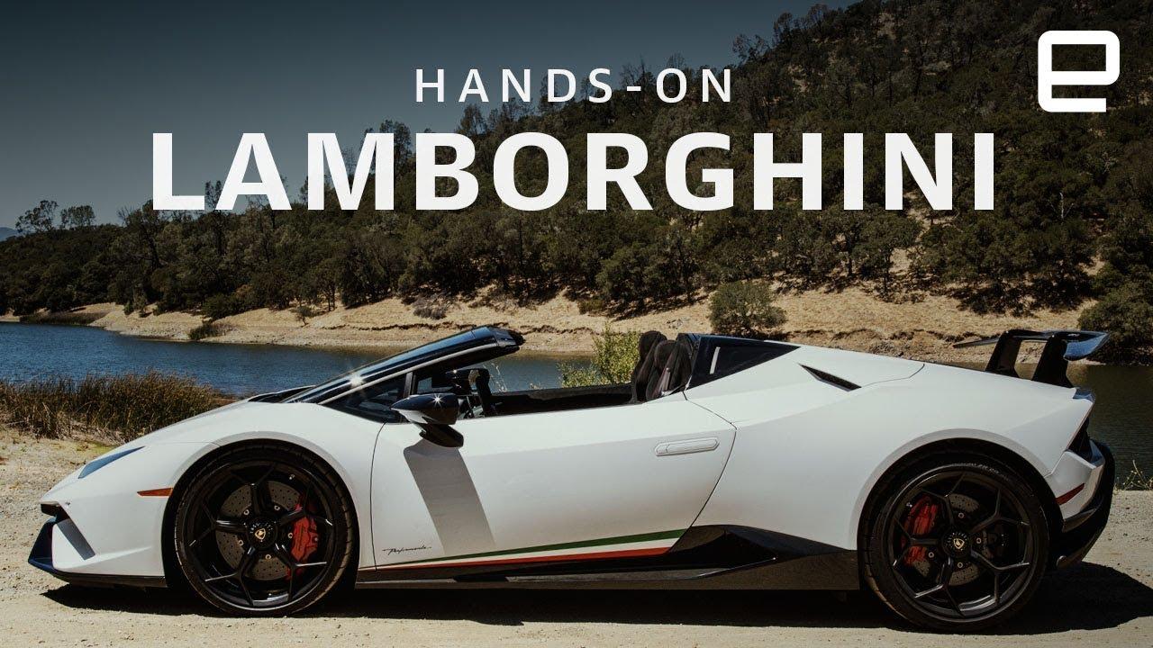 Lamborghini Huracan Performante Spyder Hands On