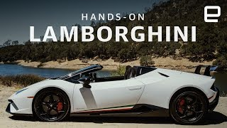 Lamborghini Huracan Performante Spyder Hands-On