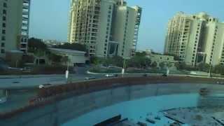 tram to the Palm Hotel Atlantis Dubai