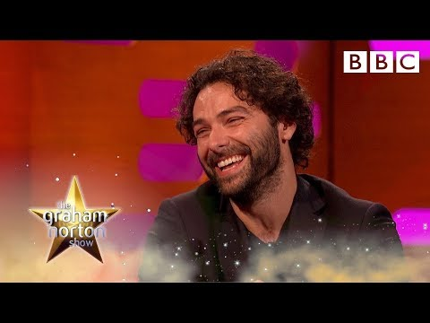 Aidan Turner's bizarre topless Poldark doll  The Graham Norton   BBC