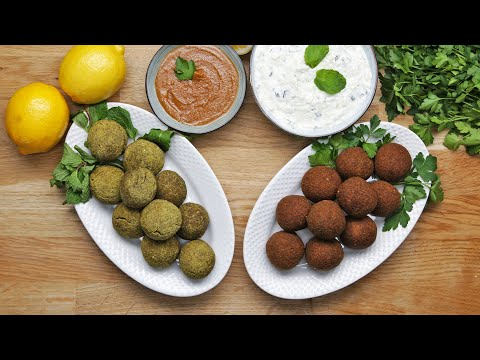 FALAFEL 2 WAYS: CLASSIC AND BAKED