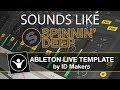 Ableton Template - Deep House - Spinnin Autumn By Id Makers