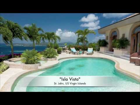 """""""Isla Vista"""" Mediterranean-Style Villa on St John, US Virgin Islands"""