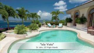 """Isla Vista"" Mediterranean-Style Villa on St John, US Virgin Islands"