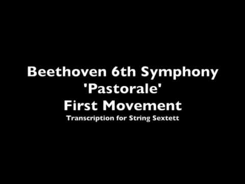 Beethoven 6th Symphony 'Pastorale' transcription for string sextet