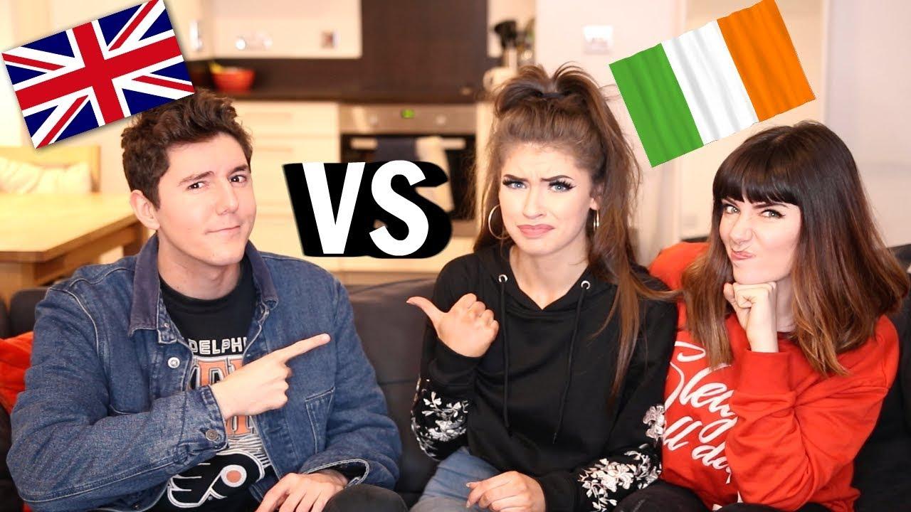 Irish Slang Vs British Slang Jessie B Melanie Murphy