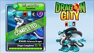 Dragon City - Infamous Dragon [Infamous Cup   Full Fight & Combat]