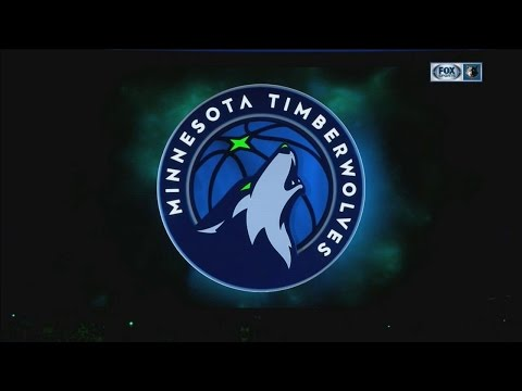 Timberwolves unveil new logo