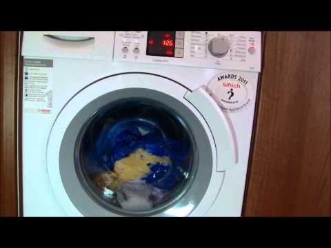 Bosch logixx WAS32461GB washing machine :  A rated Full cycle wash