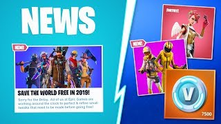 *NEW* OFFICIAL FORTNITE SAVE THE WORLD FREE RELEASE DATE! FREE FORTNITE SAVE THE WORLD 2019 RELEASE!