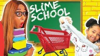 SLIME SCHOOL Sortie Scolaire, Verity vs la MAÎTRESSE - New Toy School