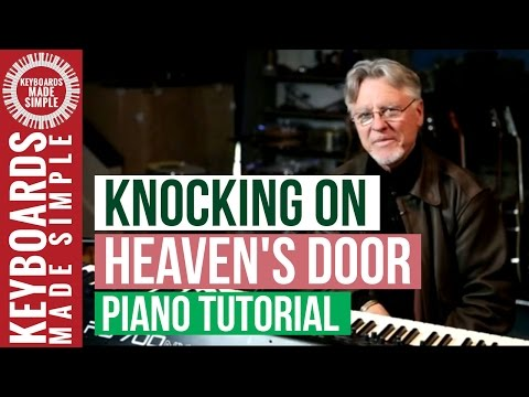 Knocking On Heavens Door Keyboard Chords By Eric Clapton Worship