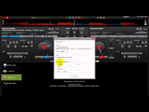 How to Broadcast Live With DJ Software (Virtual DJ)