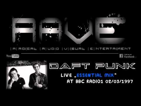 """DAFT PUNK LIVE """"ESSENTIAL MIX"""" @ BBC RADIO1 02/03/1997"""