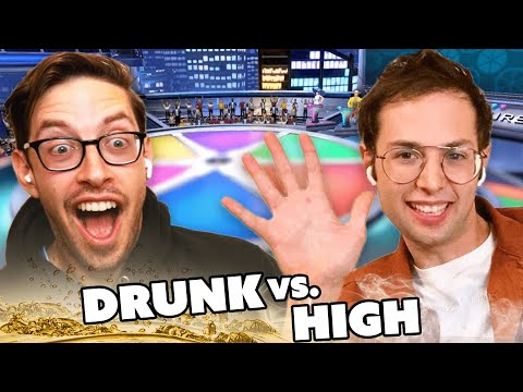 Try Guys Try Drunk Vs. High Trivia
