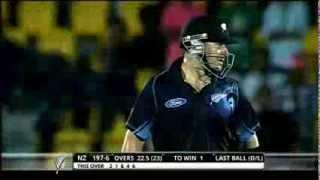 Sl vs NZ Last Over 2013