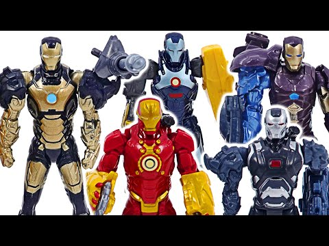 Marvel Avengers Iron-Man army! Defeat the stone golem and mutant monster!   DuDuPopTOY  
