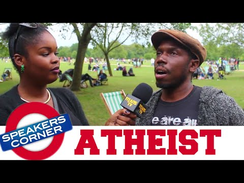 Black Atheist | Who Created God? | SPEAKERS CORNER