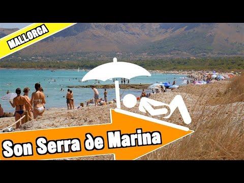 Son Serra de Marina beach Mallorca