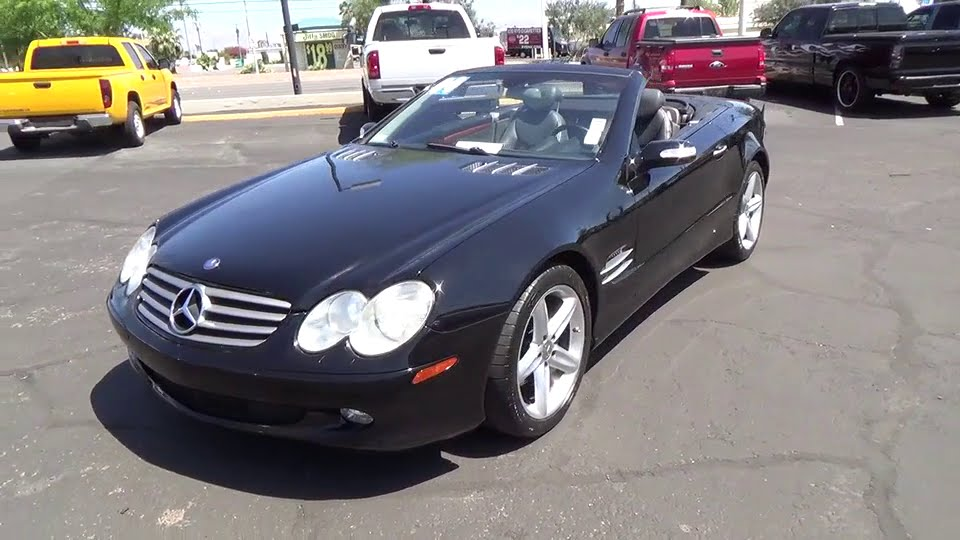 2004 mercedes benz sl class used clark county las vegas