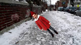 Freddie Mercury Slips On Ice and Can't Get Up